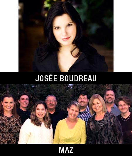 Josée Boudreau and the group Maz