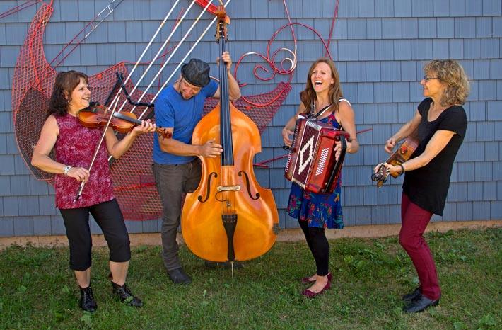 Gadelle – Village musical acadien